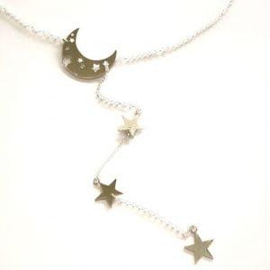 MR Milagro Rousse Collar Luna y Estrellas